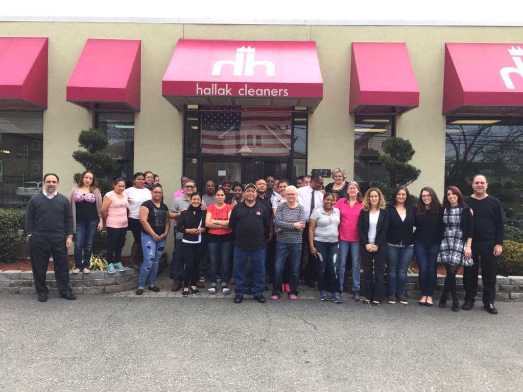 Bergen county dry cleaners - Hallak staff
